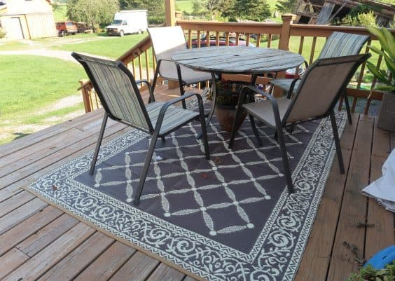 frugal items for patio