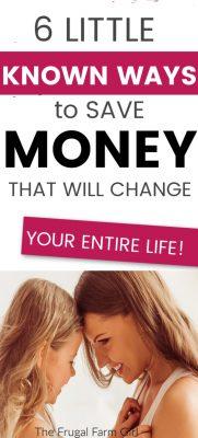 ways to save money change life