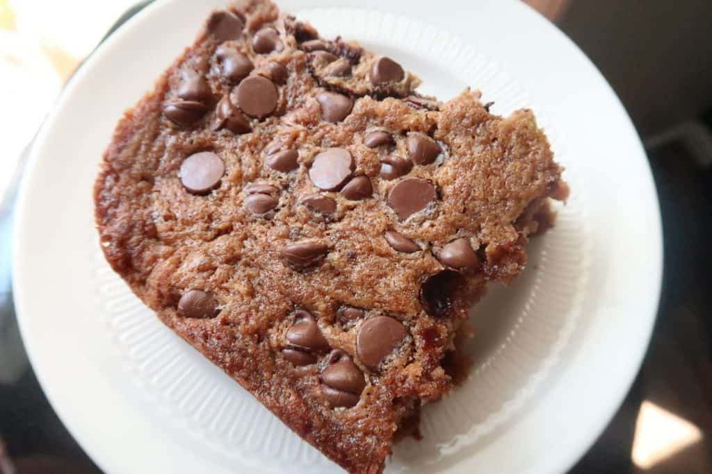 The Best Go To Chocolate Chip Zucchini Cake