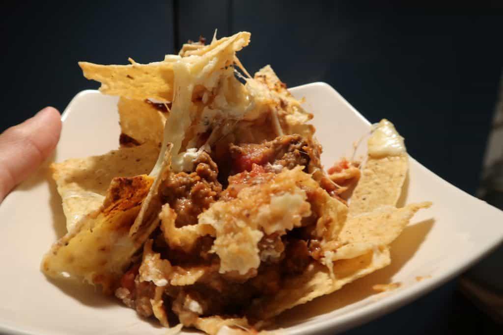 upside down taco nachos ninja foodi