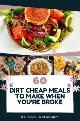 dirt cheap meals to make