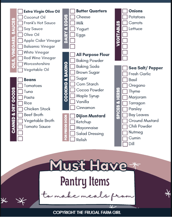 57 Items Your Pantry Needs Now