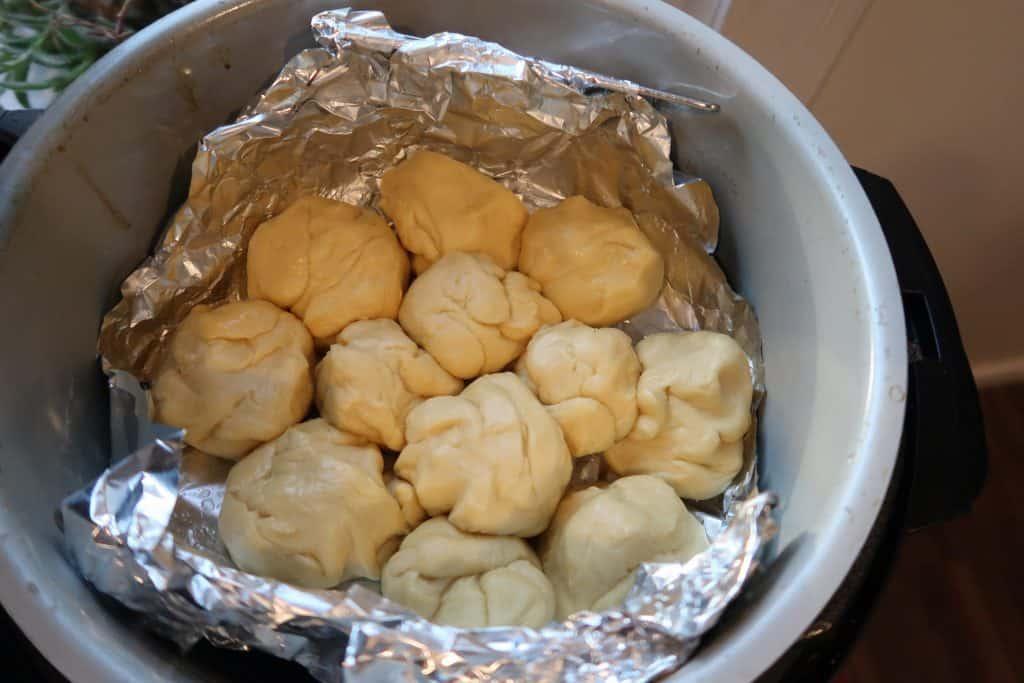 yeast rolls in the ninja foodi