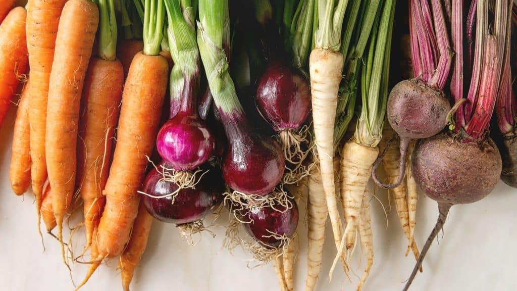 heat resistant vegetables